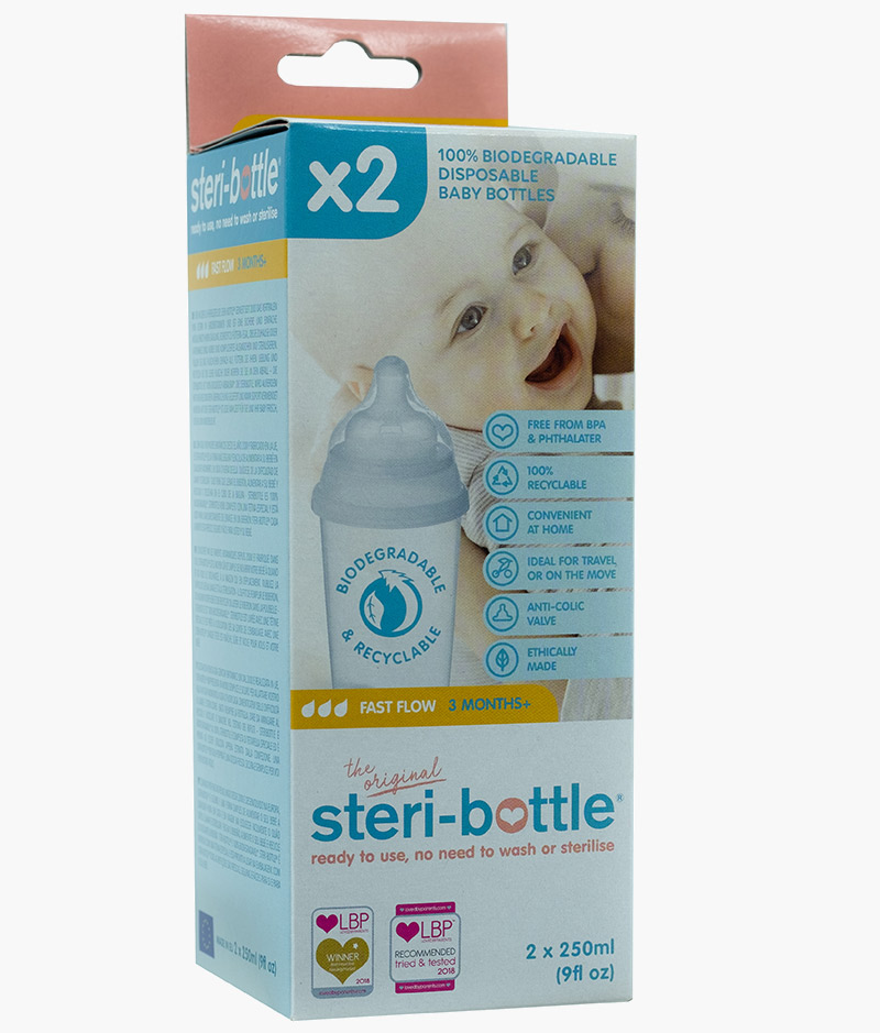 steri-bottle2 Pack fast-flow