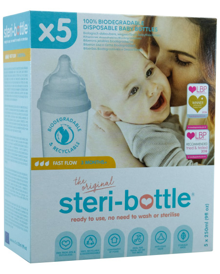 steri bottle pack